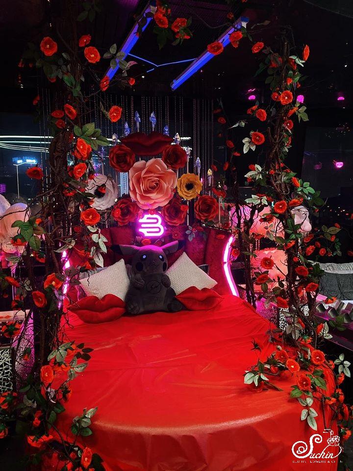 THE BEDroom – Cây hoa hồng khổng lồ cuốn hút