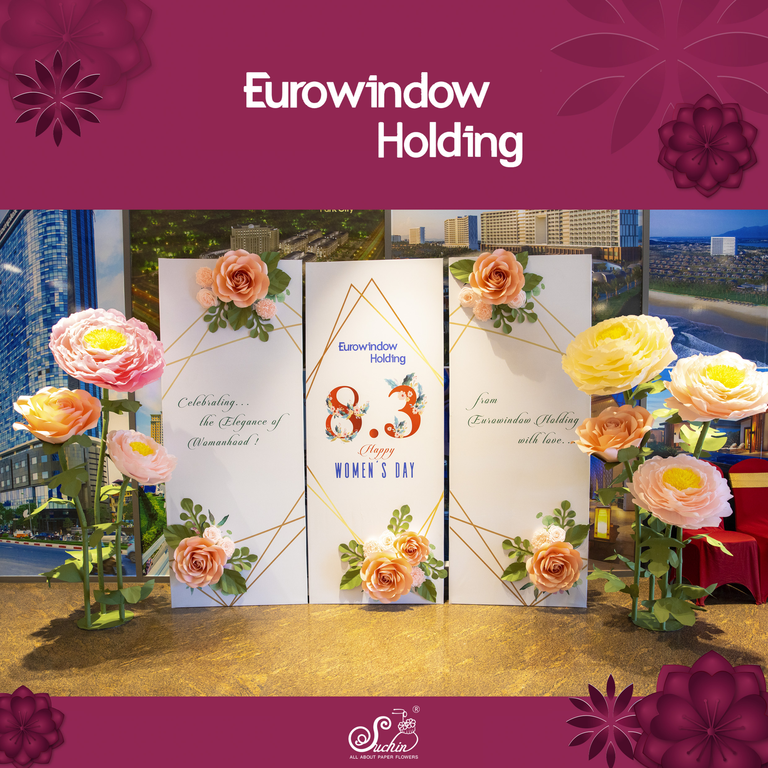 EURO WINDOW – Backdrop 8/3