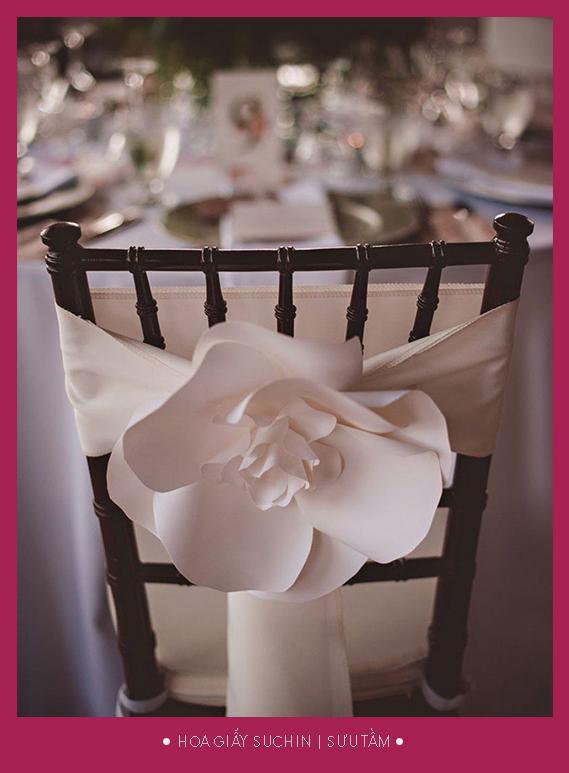 Hoa giấy nghệ thuật decor tiệc cưới