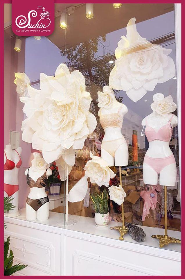 SABINA – Trang trí show window chuỗi cửa hàng đồ lót