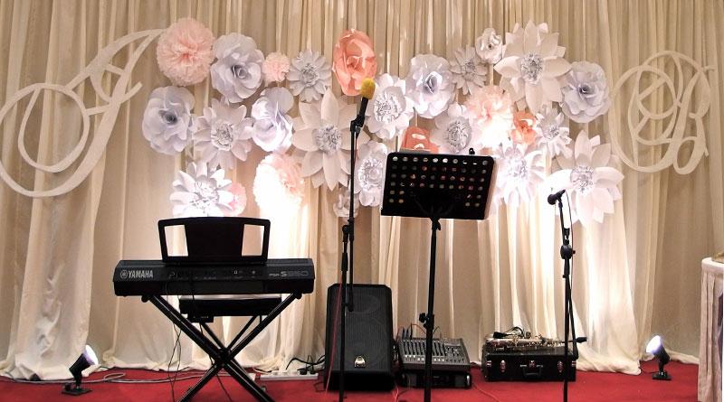 Nhận thi công backdrop cho đám cưới tại Hà Nội