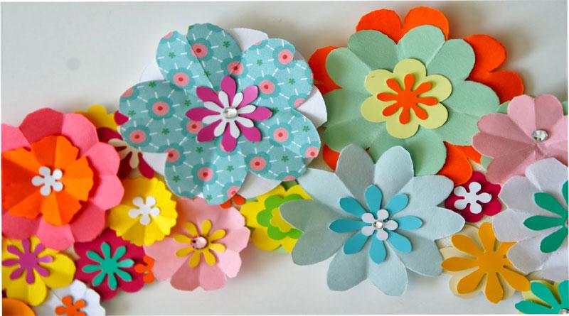 Bán giấy làm hoa trang trí
