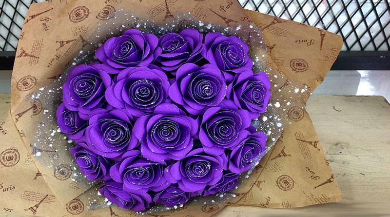 Giấy làm hoa tại HN