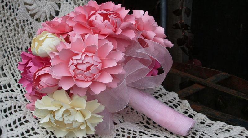 Hoa giấy bó đẹp tại Hà Nội