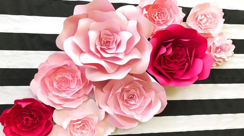 Hoa giấy handmade đẹp nhất tại HN