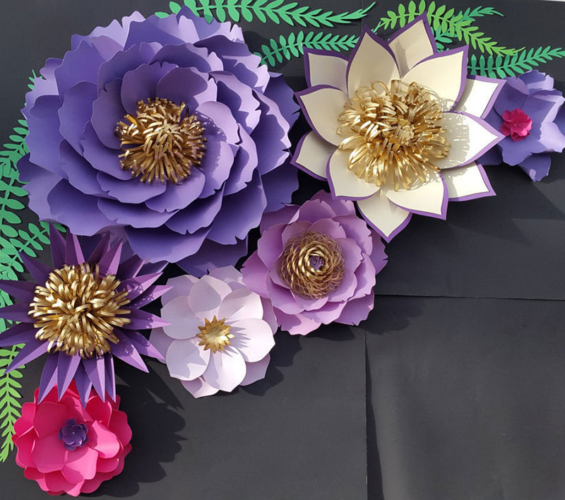 hoa giấy thái