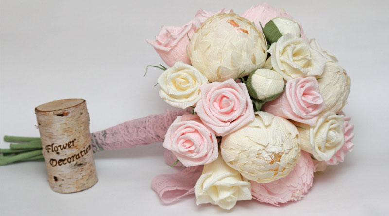 Nhận làm hoa giấy trang trí tại Hà Nội