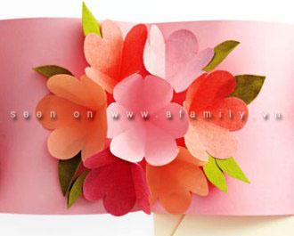 cách làm hoa giấy 3d6