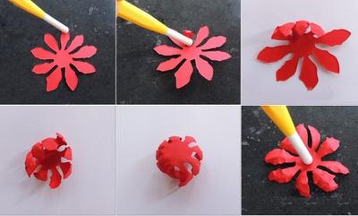 cách làm hoa giấy siêu dễ1