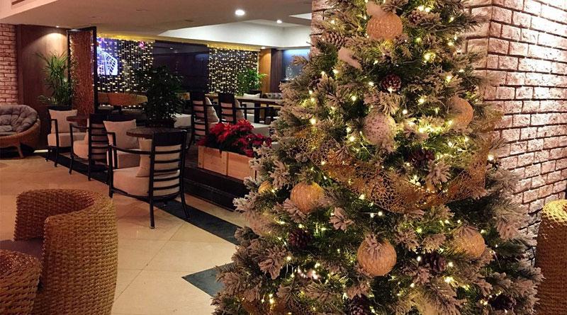 Trang trí Noel quán cafe tại Hà Nội