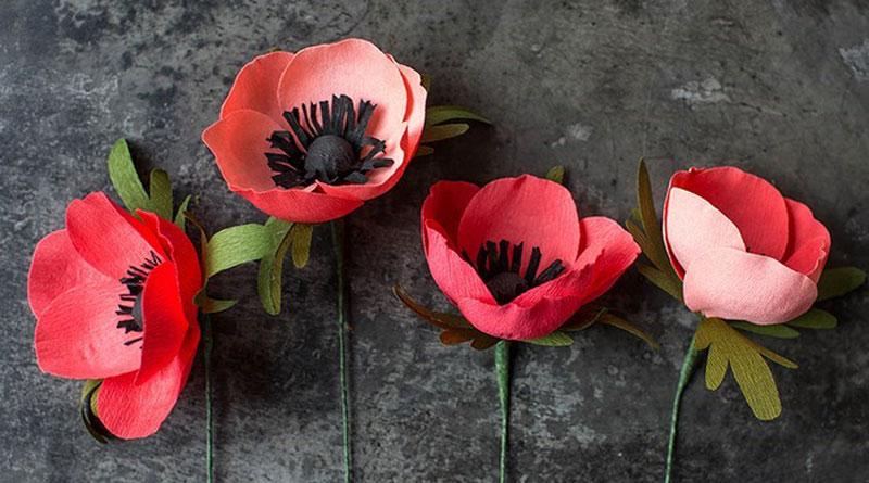 Cách làm hoa giấy trang trí nghệ thuật tại nhà