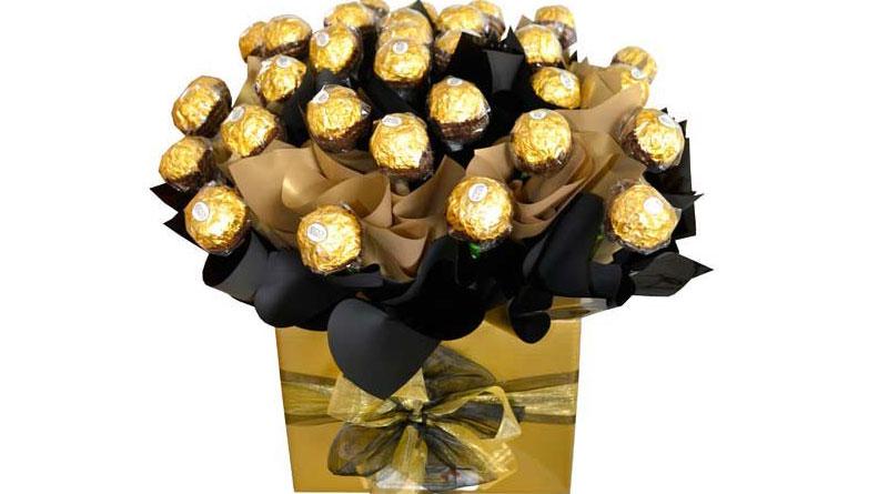 Hướng dẫn làm chậu hoa chocolate tặng người yêu