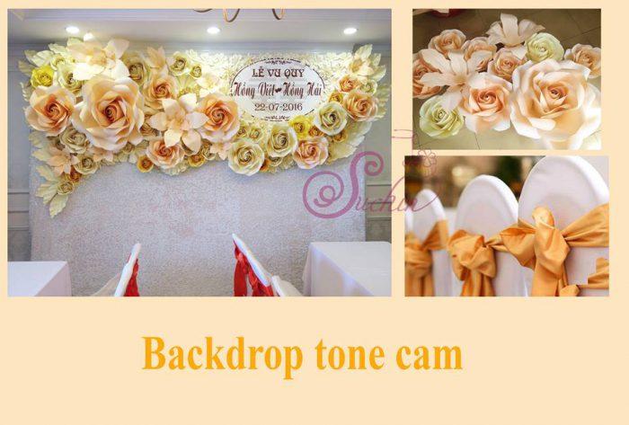 backdrop hoa giấy đẹp