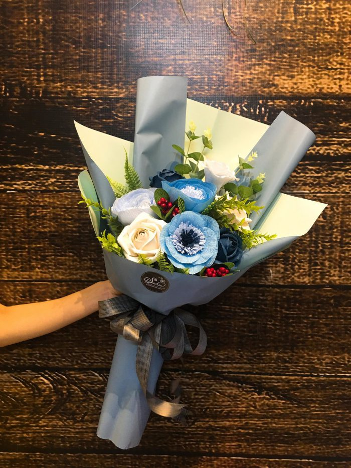 những bó hoa giấy sang chảnh nhất 06