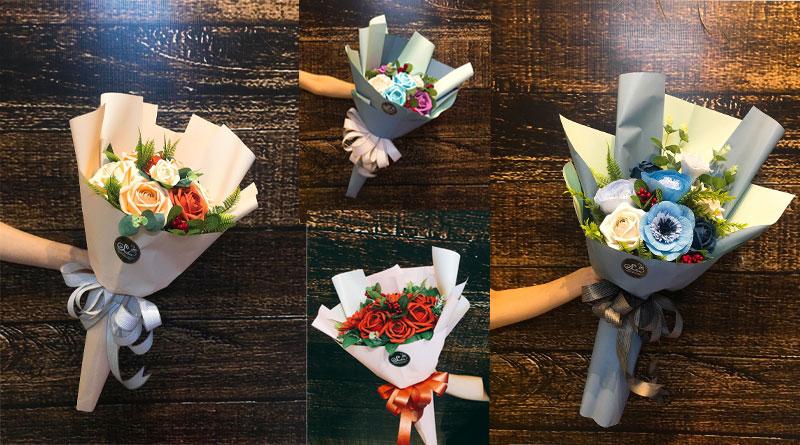 Tổng hợp những bó hoa giấy sang chảnh nhất
