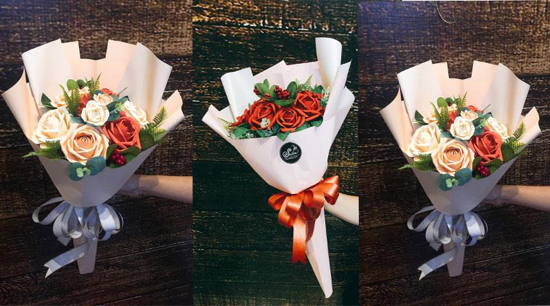 Bó hoa giấy đẹp Suchin shop