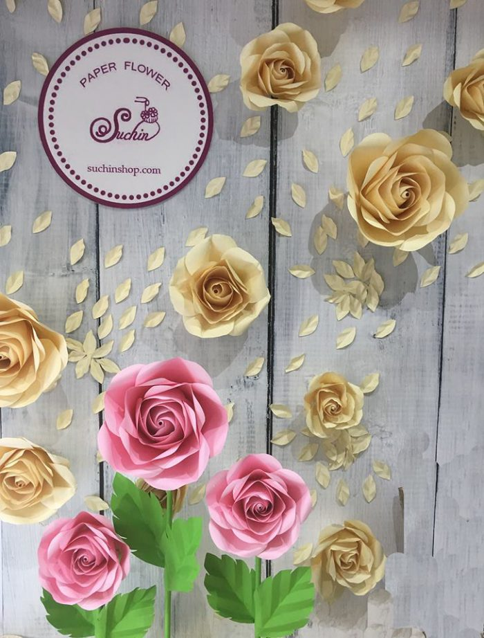 backdrop hoa giấy giá rẻ