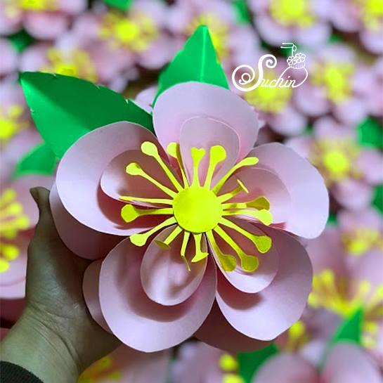 mua hoa giấy handmade đẹp