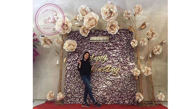 Hoa giấy trang trí nhà đẹp tại HN