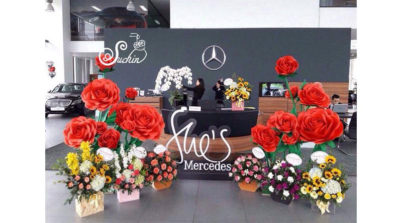 Hoa giấy đẹp ở Hà Nội Suchin shop