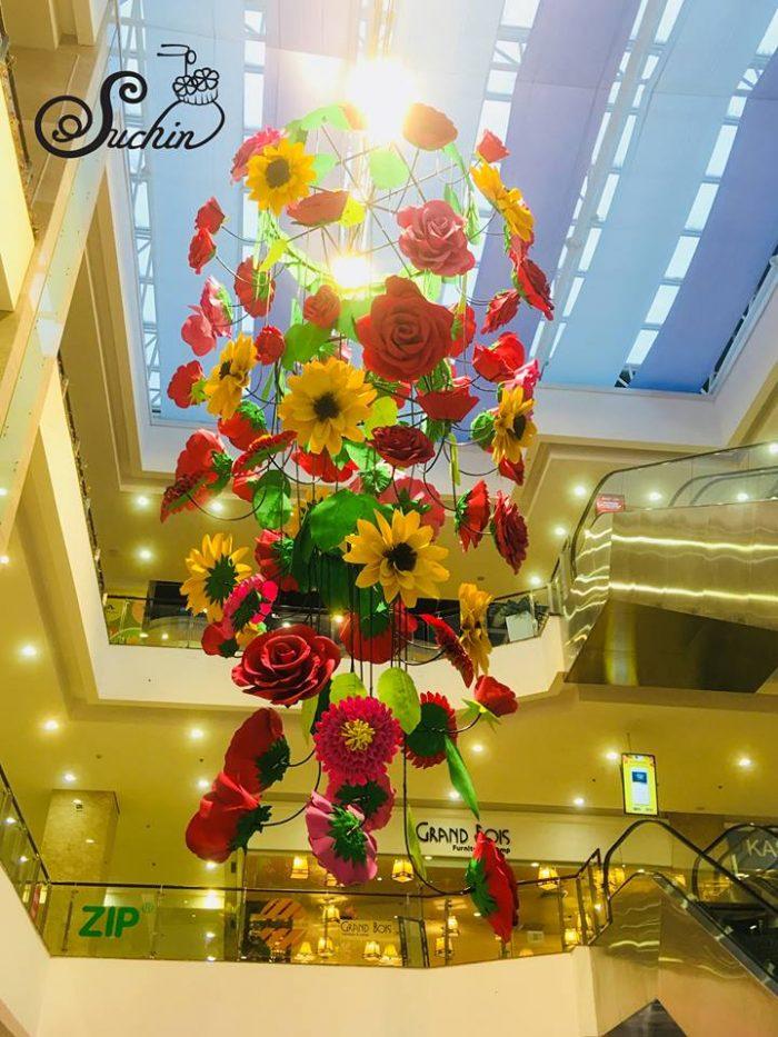 bó hoa giấy đẹp Suchin5