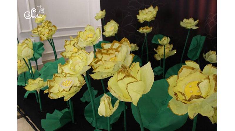 Mua hoa giấy ở Hà Nội, hoa giấy nghệ thuật