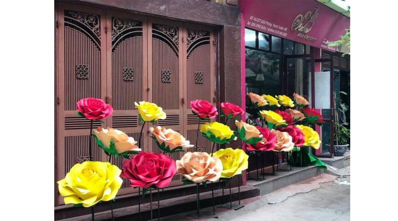 Những điểm thu hút khách hàng từ cửa hàng hoa giấy