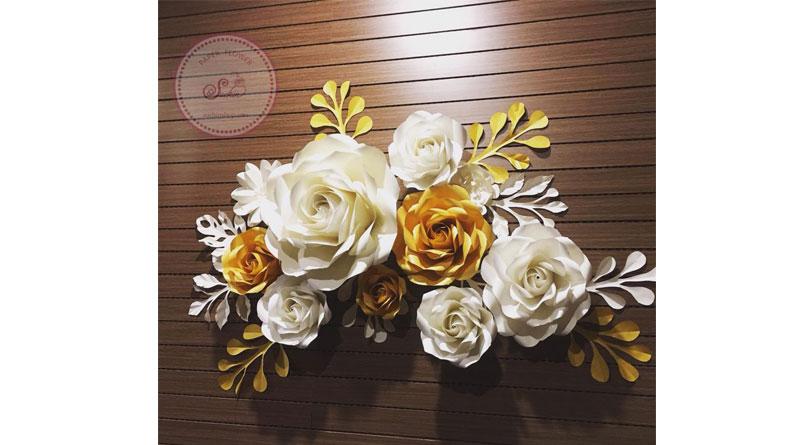 Mua phụ kiện làm hoa giấy ở Hà Nội