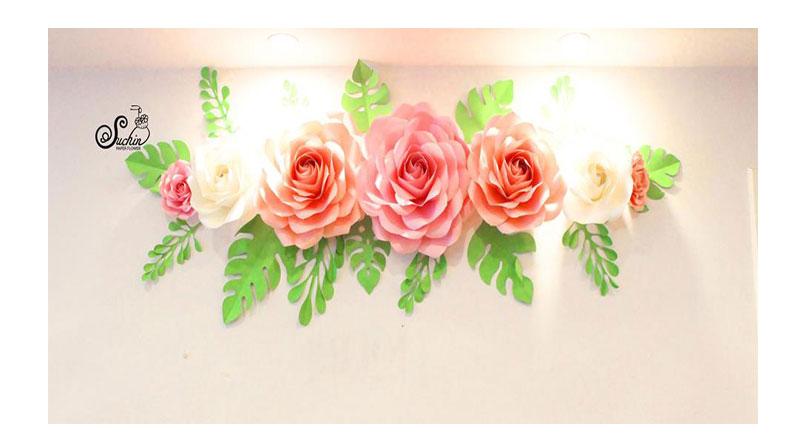 Tìm nguyên liệu làm hoa giấy đẹp