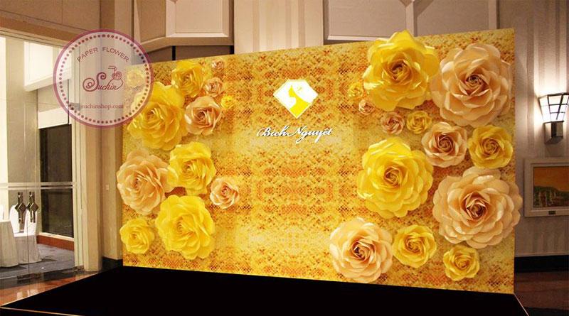 Hướng dẫn làm hoa giấy đẹp giúp người yêu hoa làm hoa