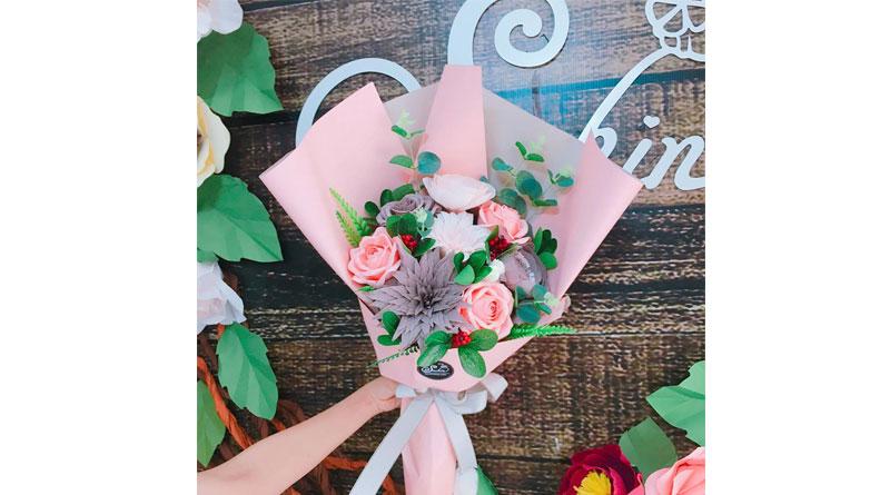 Các nguyên liệu làm hoa giấy thông dụng hiện nay