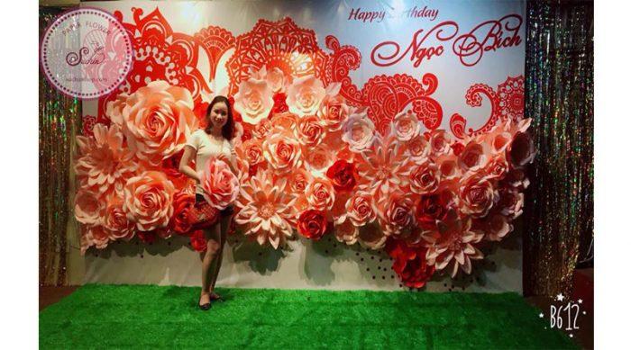 khóa học làm hoa giấy tại Đà Nẵng