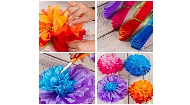 Nguyên liệu làm hoa giấy lụa, hoa giấy lụa là gì?