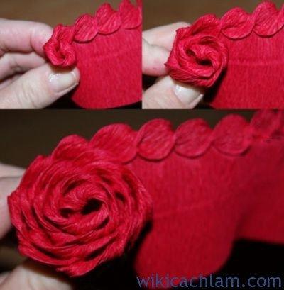 nguyên liệu làm hoa giấy nhún2