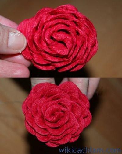 nguyên liệu làm hoa giấy nhún3