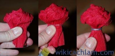 nguyên liệu làm hoa giấy nhún4