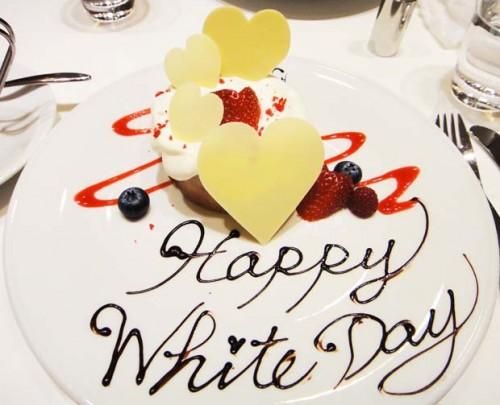 quà tặng valentine trắng