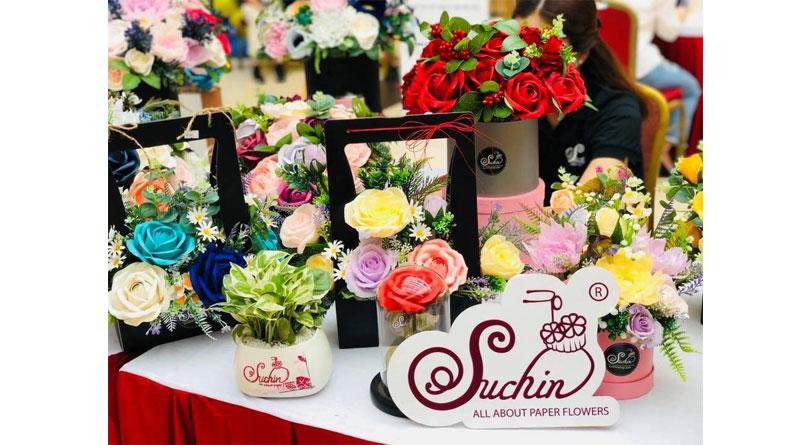 Sách dạy làm hoa giấy Suchin shop