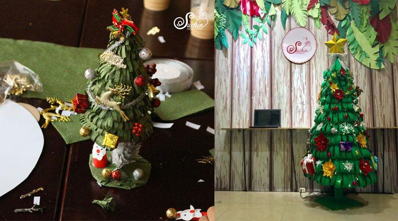 Trang trí Noel bằng đồ handmade độc đáo