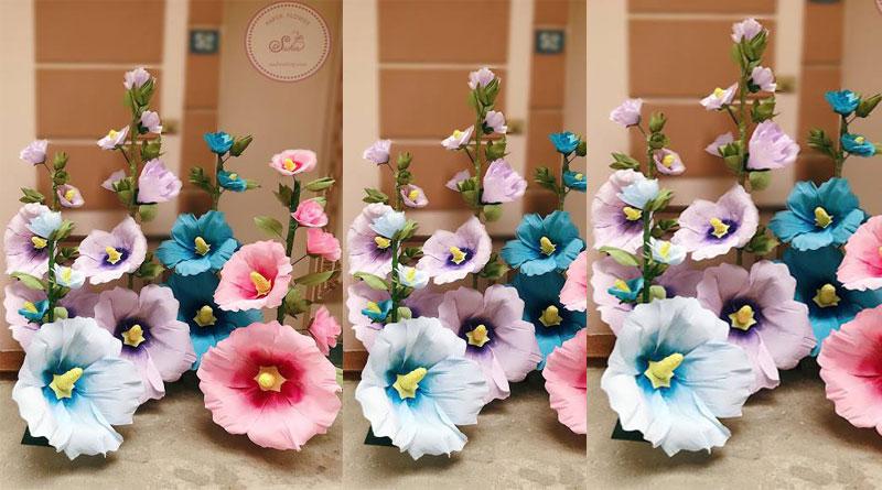 Các loại hoa giấy handmade đẹp tại Suchin shop