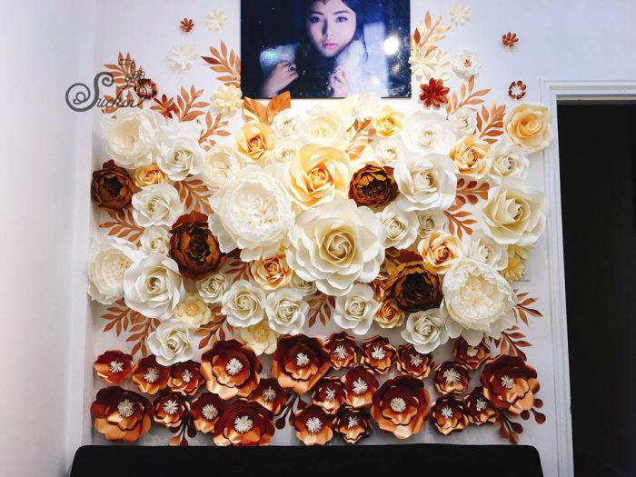 Khóa học làm hoa giấy tại Hà Nam