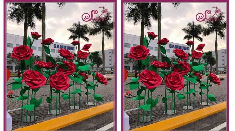 Đặt làm hoa giấy khổng lồ tại HN