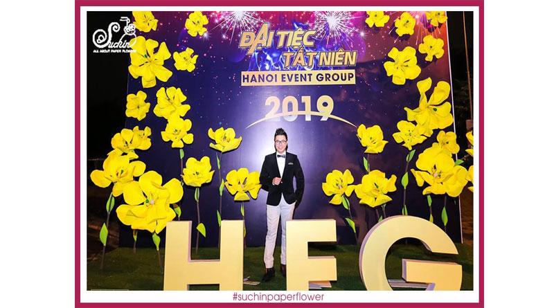 Khóa học làm hoa giấy hot nhất 2019