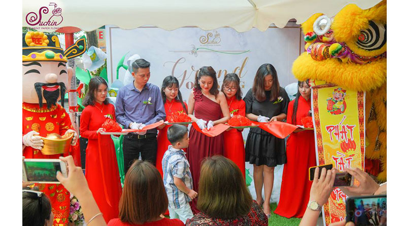 Giới thiệu cơ sở hoa giấy Suchin 2-cs Kim mã