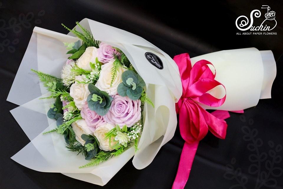Lớp Hướng dẫn bó hoa giấy chuyên nghiệp tại Hà Nội