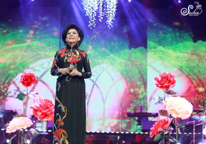 Tết Vạn Lộc 2018- Bông hồng cài áo danh ca Giao Linh