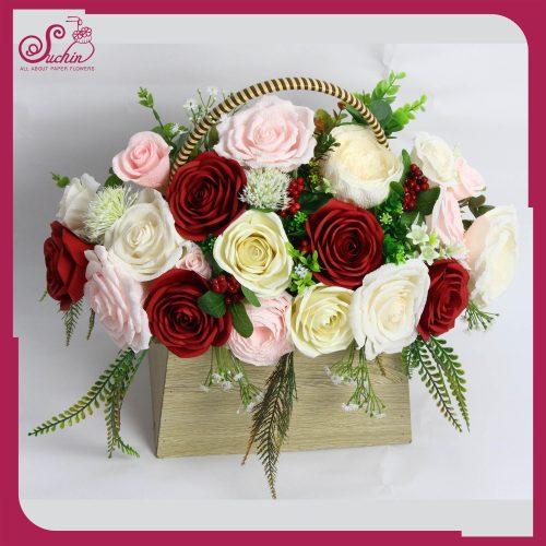Tổng hợp mẫu hoa giấy làm quà tặng 20/10 theo tone màu đầy ý nghĩa
