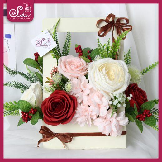 lẵng hoa làm quà tặng