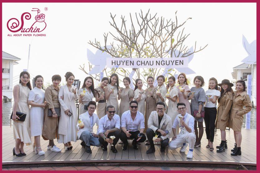 Trang trí sự kiện Huyen Chau's Tea Fashion Party