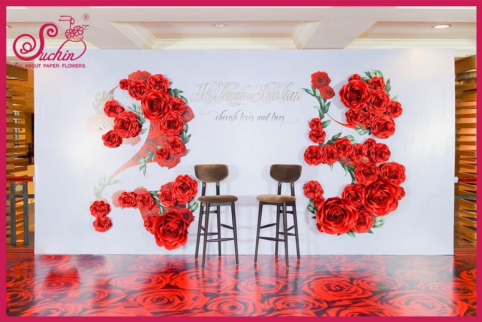 Backdrop kỉ niệm ngày cưới